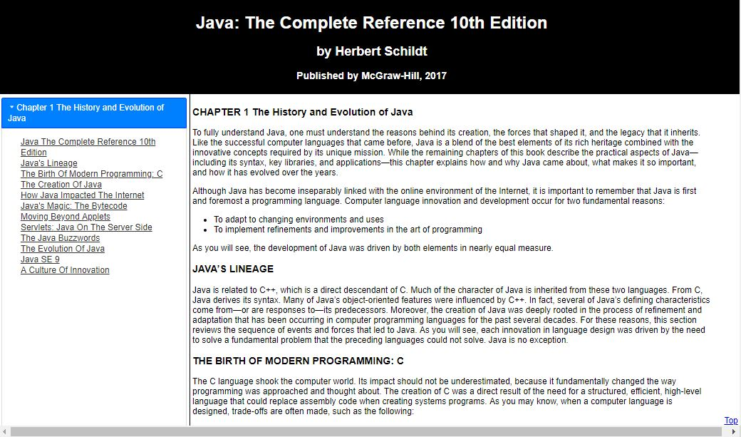 Java The Complete Reference 10th Edition