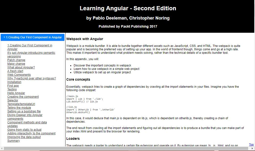 Learning Angular 2d Edition Deeleman