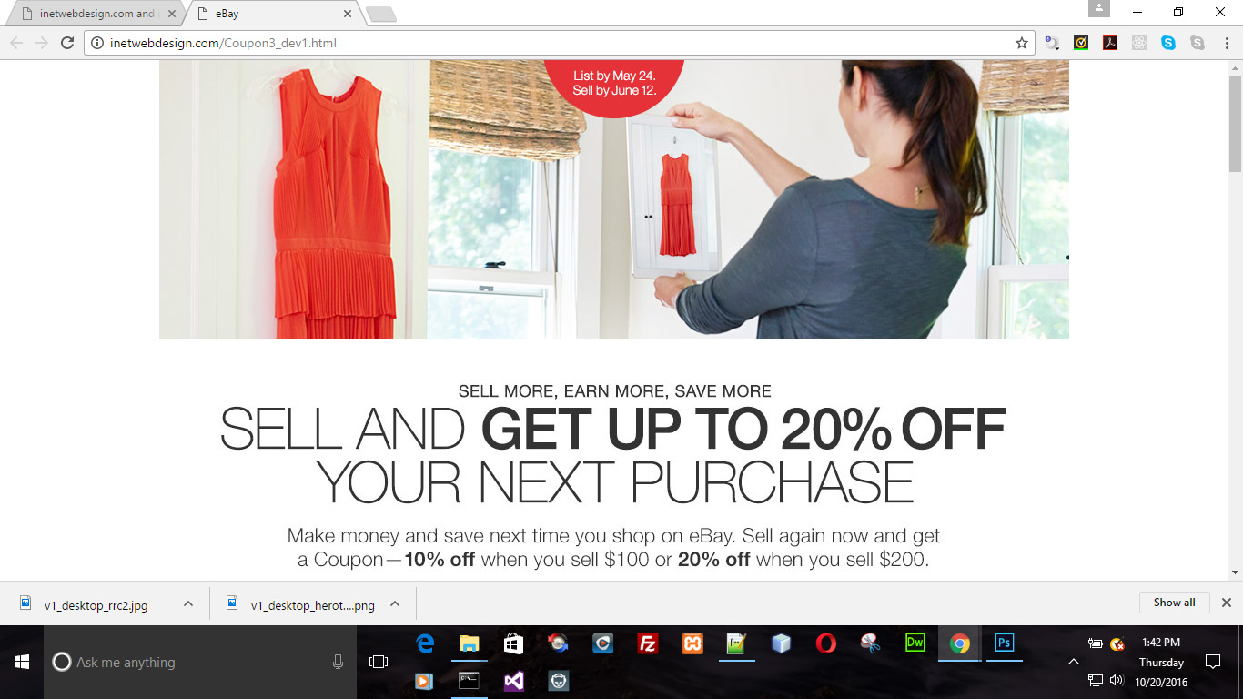 SELL AND GET UP TO 20% OFF