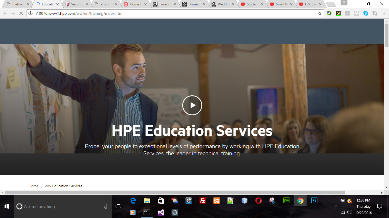 HP Education Services